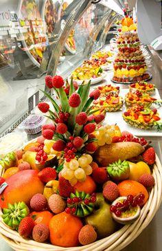 Myprimeur, Traiteur, Assortiments Fruits et Légumes, Verrines...