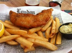 Fish and Chips Recipe from Rose and Crown Dining Room at EPCOT in Disney World
