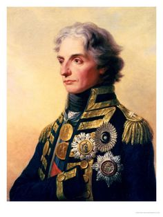 Portrait of Lord Horatio Nelson - England's greatest naval hero by Friedrich Heinrich Fuger