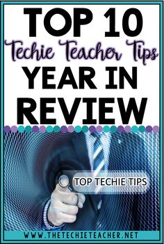 Top 10 Techie Teacher Tips Year in Review: Chrome extensions, iPad/iPhone tips and tricks, productivity tips and more!