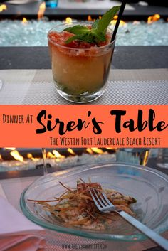 Siren's Table at the Westin Fort Lauderdale Beach Resort is perfect oceanside dining! This post features a sampling of their amazing food & drink offerings.