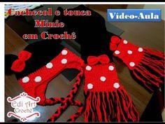 Cachecol Minie em crochê - Vídeo-aula #INSCREVA-SE NO CANAL# - YouTube
