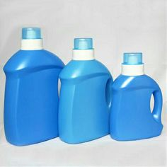 Laundry detergent plastic bottle (HDPE)