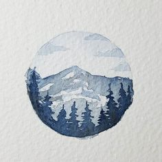 Ideas for landscape artwork illustrations Painting Inspiration, Art Inspo, Mountain Drawing, Galaxy Painting, Landscape Artwork, Mountain Paintings, Oeuvre D'art, Painting & Drawing, Drawing Drawing