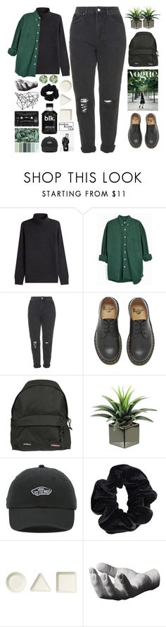 """""""18. salt"""" by zorionxx ❤ liked on Polyvore featuring Vince, Topshop, Dr. Martens, Vetements, Floyd, Color Me, Vans, American Apparel, iittala and Harry Allen"""