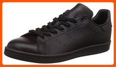 adidas Men's Originals Stan Smith Sneaker, Core Black/Black/Black, 10.5 M US - Our favorite sneakers (*Amazon Partner-Link)