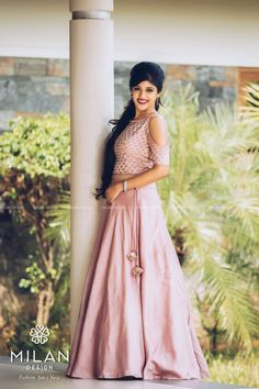 Outfit designed by . Designer Lehengas, Kurtis and Kids wear Inspiration . DM for credits &… Full Skirt And Top, Full Skirt Dress, Wedding Sarees Online, Saree Wedding, Wedding Dress, Gown Party Wear, Party Wear Sarees, Indian Dresses, Indian Outfits