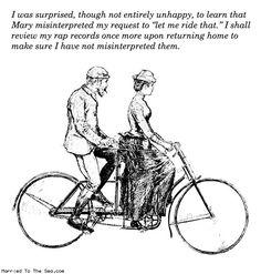 Let me ride that!