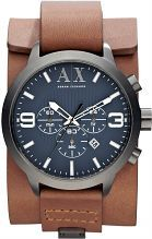 I have this in mind for my man's birthday next month - Mens Armani Exchange Chronograph Cuff Watch AX1274