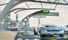 Zero emission electric car, via The Guardian.
