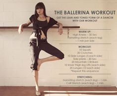 workout routine for dancers Ballerina workout Fitness Workouts, Side Workouts, Sport Fitness, Fitness Tips, Barre Workouts, Fitness Motivation, Studio Workouts, Kids Fitness, Workout Exercises