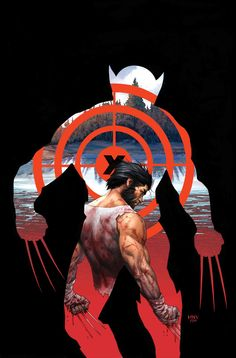 Steve McNiven - The Death of Wolverine #WolverineWednesday #PunisherApproved