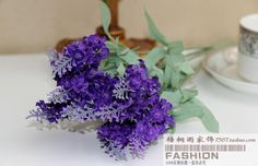 Aliexpress.com : Buy Special Offer ! 2013 new 10 heads lavender full artificial flower silk rustic for home wedding party decoration free shipping from Reliable plastic flower suppliers on Lore 's Decoration Flowers Store. $33.99