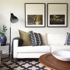 Olive tones lounge room
