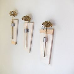 wall mount flower vases