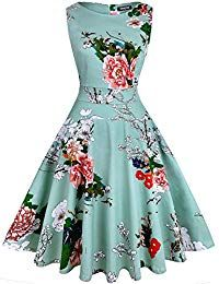 Looking for OWIN Women's Vintage Floral Spring Garden Rockabilly Swing Prom Party Cocktail Dress ? Check out our picks for the OWIN Women's Vintage Floral Spring Garden Rockabilly Swing Prom Party Cocktail Dress from the popular stores - all in one. Vintage Homecoming Dresses, Floral Prom Dresses, Ice Dresses, Vintage Dresses, Sexy Dresses, 1950s Dresses, Trendy Dresses, Sexy Outfits, Vintage Clothing