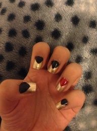 Easy and simple nail design!