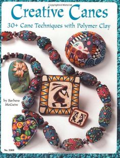 Creative Canes: 30+ Cane Techniques with Polymer Clay (Design Originals) by Barbara McGuire http://www.amazon.com/dp/1574216198/ref=cm_sw_r_pi_dp_QX46vb0RENGAE