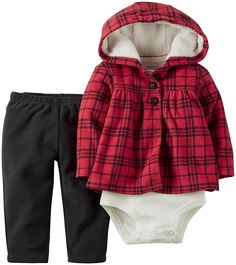 Carter's Baby Girls' 3 Piece Cardigan Set (Baby) ** Don't get left behind, see this great  product : Baby clothes