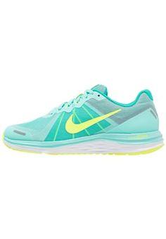 DUAL FUSION X 2 - Chaussures de running neutres - hyper turquoise/volt/clear