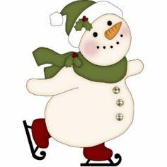 skating snowman images | Snowman Photo Sculptures, Cutouts and Snowman Cut Outs