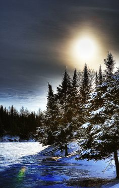 Hiver canadien  -  Canadian winter