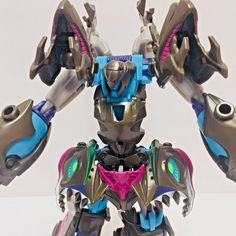 Transformers Prime Sharkticon Megatron Action Figure Beast Hunters Voyager Class #Hasbro
