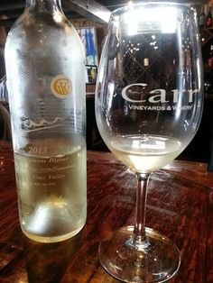 Sauvignon Blanc from Carr Vineyard and Winery in Santa Barbara #maggiesfoodtravels #wine