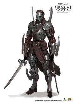 Sword Knight | Character - Concept Art [ # ] | Pinterest | 刀、キャラクターアート、戦士