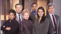 law and order original | Law & Order cast members have included, from left, S. Epatha Merkerson ...