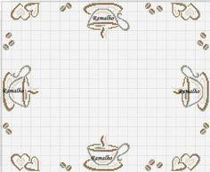 Cross Stitch Borders, Cross Stitch Designs, Cross Stitching, Cross Stitch Embroidery, Cross Stitch Patterns, Pach Aplique, Filet Crochet Charts, Hand Embroidery Flowers, Cross Stitch Kitchen