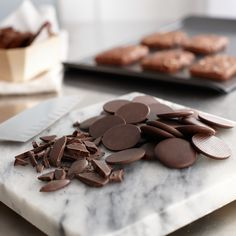 TCHO Chocolate disks- perfect for your every baking need! Peruse our TCHOPro line at tcho.com and take your pick from 39%-99% chocolate!
