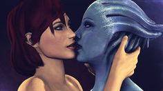 FemShep and Liara 4 by Rescraft