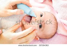 cleaning baby nose #newborn #baby #healthcare