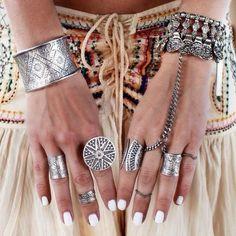 hippie, boho jewelry  http://www.solsticajewelry.etsy.com