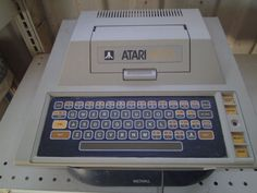 Atari 400 Computer. This was our first family computer. I think my parents took a second mortgage to buy it.