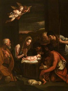 1575 – 1642 Guido Reni, The Adoration of the Shepherds