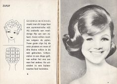 The George Michael! 1960 Hairstyles, Vintage Hairstyles, Prom Hairstyles, Vintage Updo, Vintage Makeup, Vintage Style, Cabelo Pin Up, Illustrations Vintage, 1960s Hair