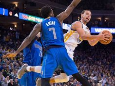 Feb. 4, 2015: Stephen Curry showed off his flexibility,