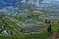 55 аэрофотографий о том, что наша планета самая красивая. Мелодии земли. Автор фото: XiaoJia Jin