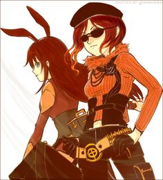 Coco and Velvet RWBY https://touch.pixiv.net/member_illust.php?id=28358591