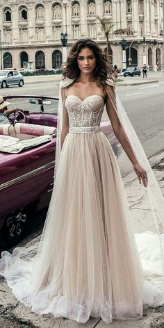 gorgeous dress, hair; bride, wedding.