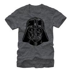 Star Wars Men's - Darth Vader Helmet T Shirt