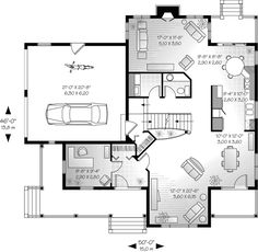 Alfred Country Farmhouse Plan 032D-0341 | House Plans and More