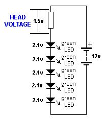 how to make a simple led automatic day night lamp circuit. Black Bedroom Furniture Sets. Home Design Ideas