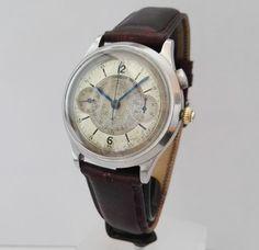 Lemania 15TL/33.3 Coaxial Crown – Men's wristwatch – 1938