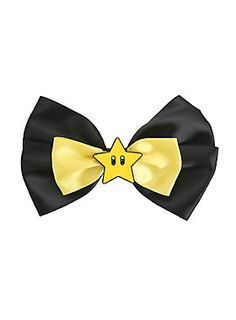 Be a superstar! // Super Mario Super Star Cosplay Bow