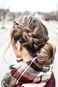 wedding hairstyles easy hairstyles hairstyles for school hairstyles diy hairstyles for round faces p Cute Hairstyles For Teens, Cute Hairstyles For Medium Hair, Teen Hairstyles, Girl Haircuts, Pretty Hairstyles, Medium Hair Styles, Braided Hairstyles, Curly Hair Styles, Summer Haircuts