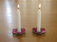 canddle holder by spaktabs on Etsy. $15.00, via Etsy.