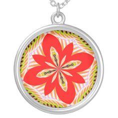 Fractalscope 6 necklace...#necklaces #jewelry #colorful #RoseSantuciSofranko #Artist4God #Zazzle #accessories #customizable #forsale #pendants #fashion#fractals #fractalscopes #kaleidoscopes #mandalas #abstracts #digital art